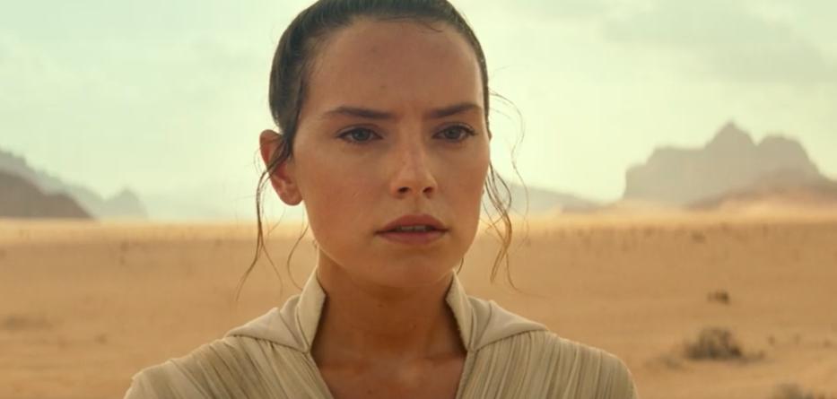 Rey in Star Wars 9